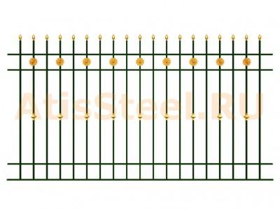 Секционный забор №17