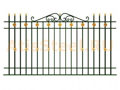 Секционный забор №18