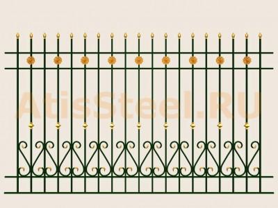 Секционный забор №19