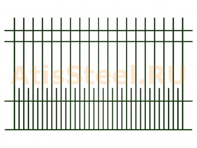 Секционный сварной забор №5