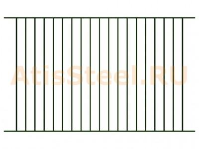 Секционный сварной забор №6