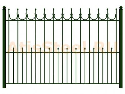 Секционный сварной забор №19
