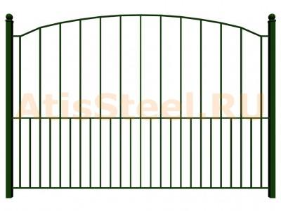 Секционный сварной забор №21