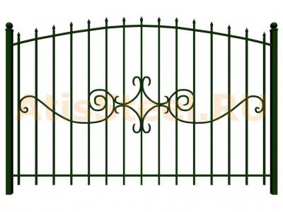 Секционный сварной забор №23