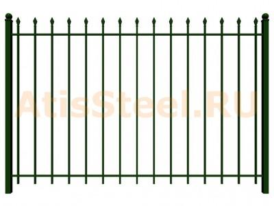 Секционный сварной забор №8