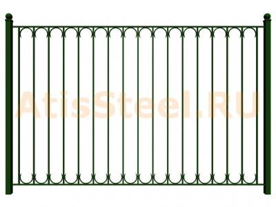 Секционный сварной забор №29