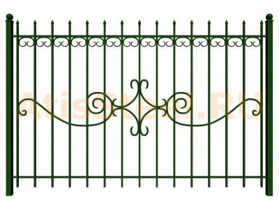 Секционный сварной забор №32