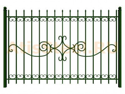 Секционный сварной забор №33