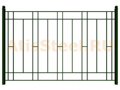 Секционный сварной забор №12