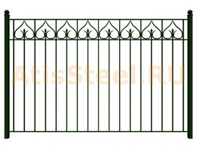 Секционный сварной забор №14
