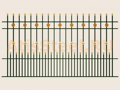 Секционный забор №21