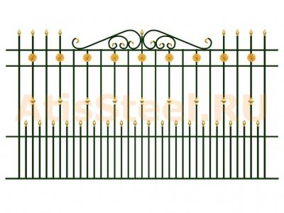 Секционный забор №22