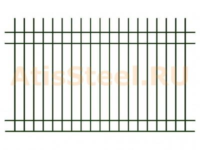 Секционный сварной забор №1