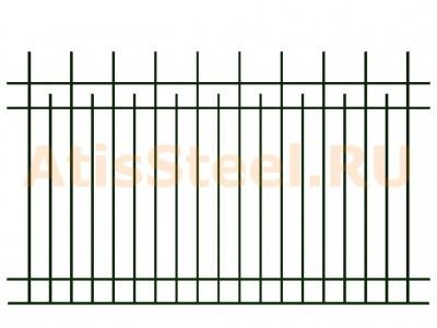 Секционный сварной забор №4