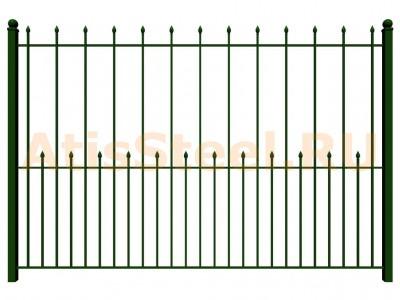 Секционный сварной забор №18