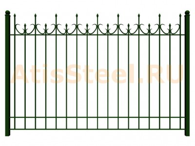 Секционный сварной забор №20