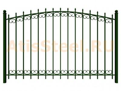 Секционный сварной забор №24