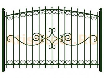 Секционный сварной забор №25