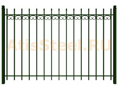 Секционный сварной забор №26