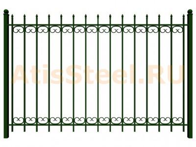 Секционный сварной забор №27