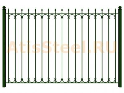 Секционный сварной забор №28