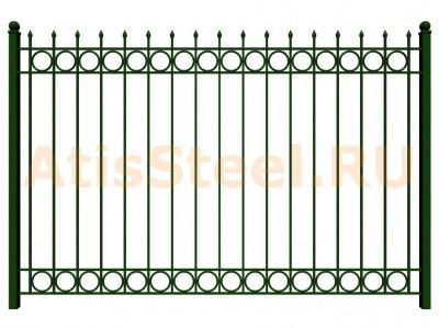 Секционный сварной забор №30