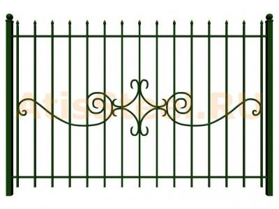 Секционный сварной забор №31