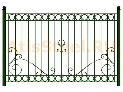 Секционный сварной забор №35