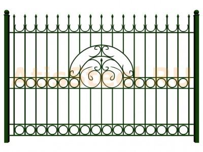 Секционный сварной забор №36