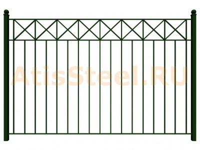 Секционный сварной забор №11