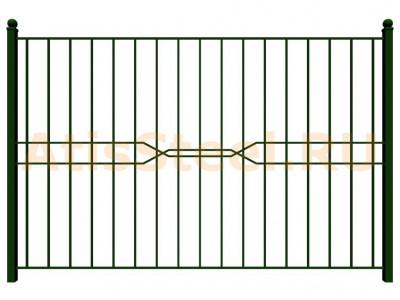 Секционный сварной забор №15